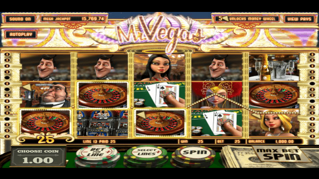 Характеристики слота Mr. Vegas 6