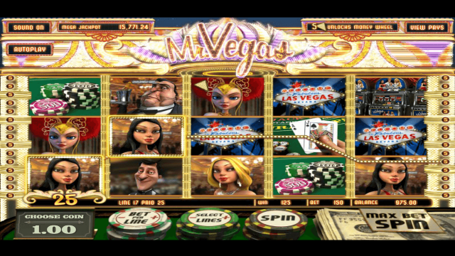 Характеристики слота Mr. Vegas 7