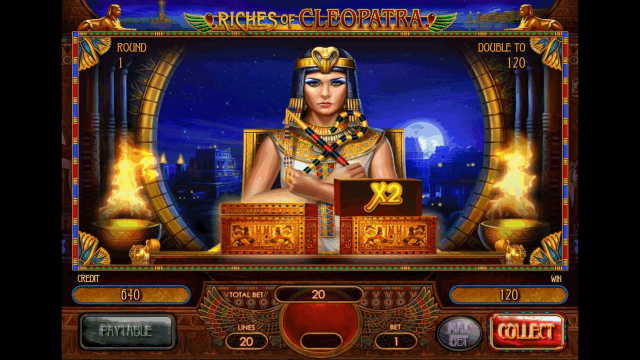 Характеристики слота Riches Of Cleopatra 7