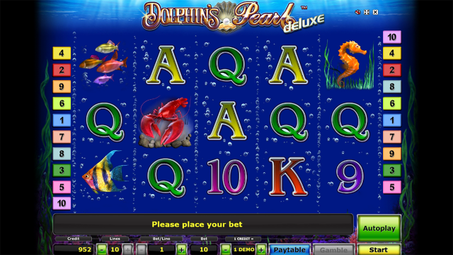 Бонусная игра Dolphin's Pearl Deluxe 8