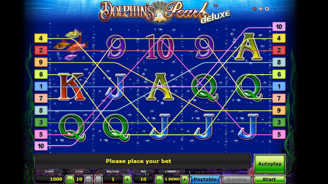 Бонусная игра Dolphin's Pearl Deluxe 3