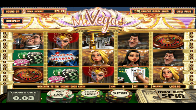 Характеристики слота Mr. Vegas 1